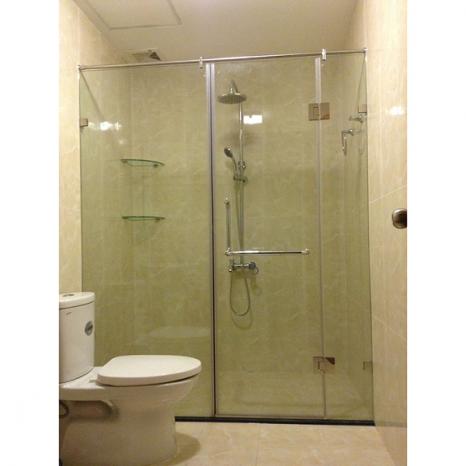 Phòng tắm kính mở quay 90 độ - 0986 964 265